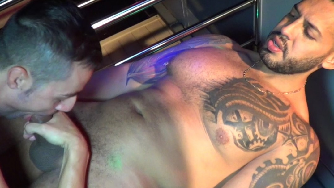 Show porn live IDME Sauna with Viktor ROM