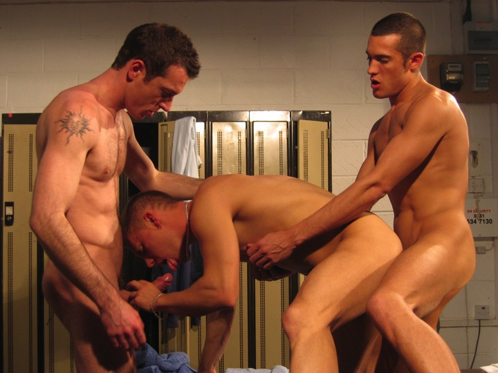 Spit-roasted in the locker-room