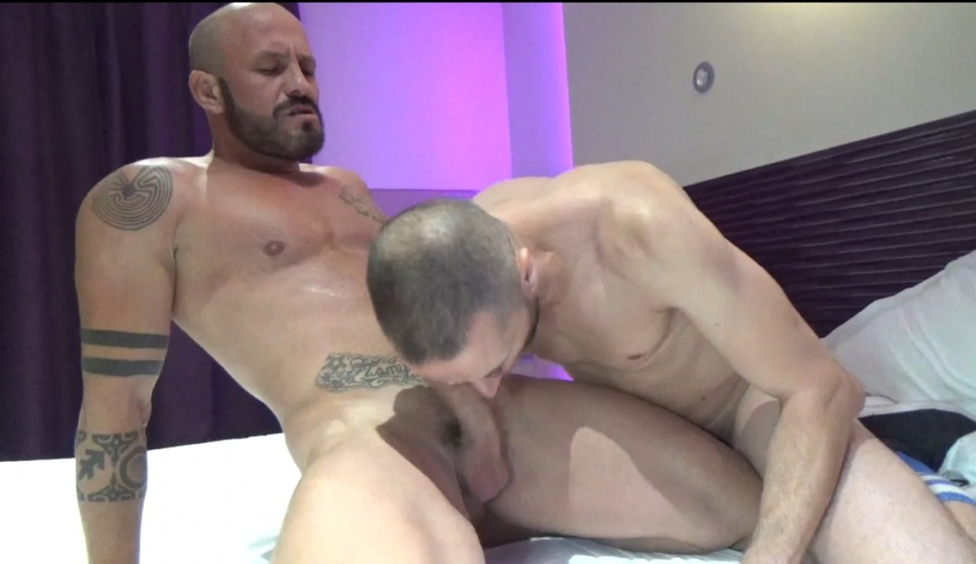 Tony AXEL fucked and creampie Max DURAN