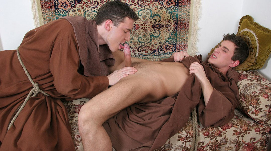 Young twinks, perverted monks