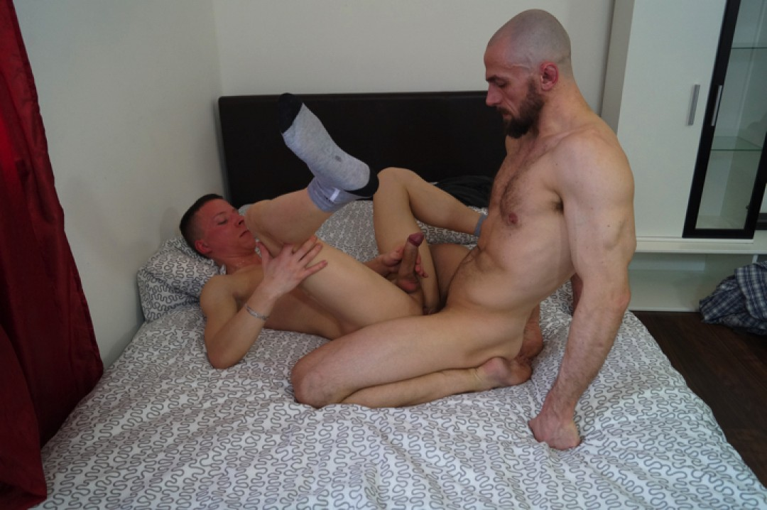 Cheating On His Wife With A Hung Bottom