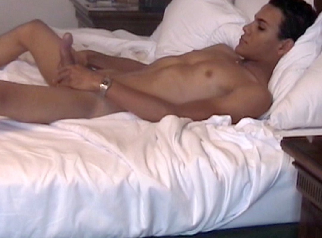 Cute Latino boy's first time on camera
