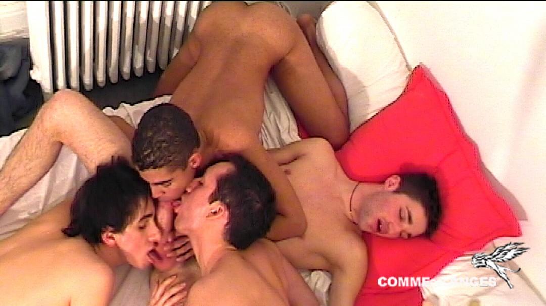 Brice Farmer exploité par 3 passifs gays en chaleur