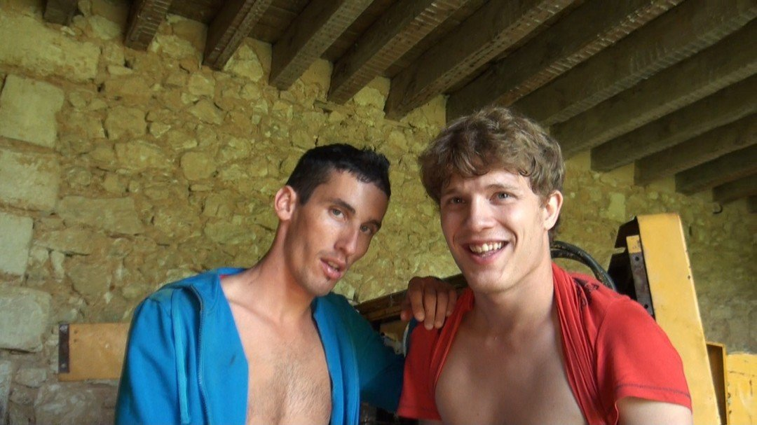 At first only, twink innocent and timid