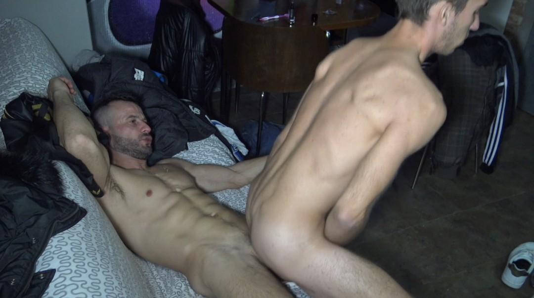twink used by straight with massive cock