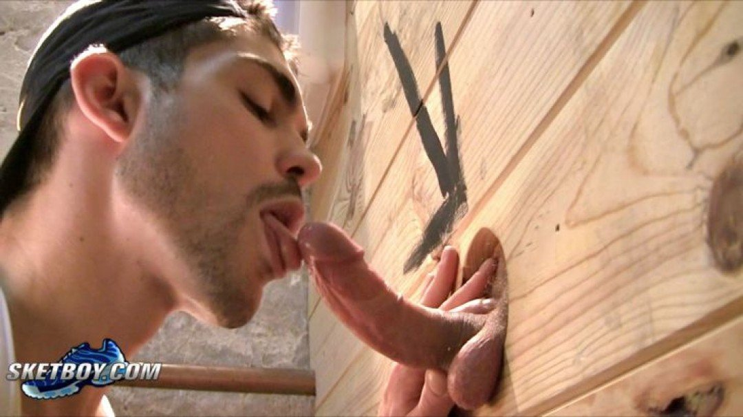 Sneakers orgy in the glory holes 2