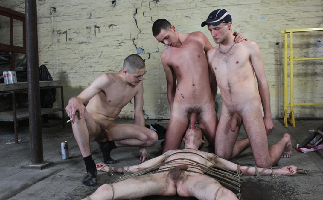 Ashton Used By Three Boys