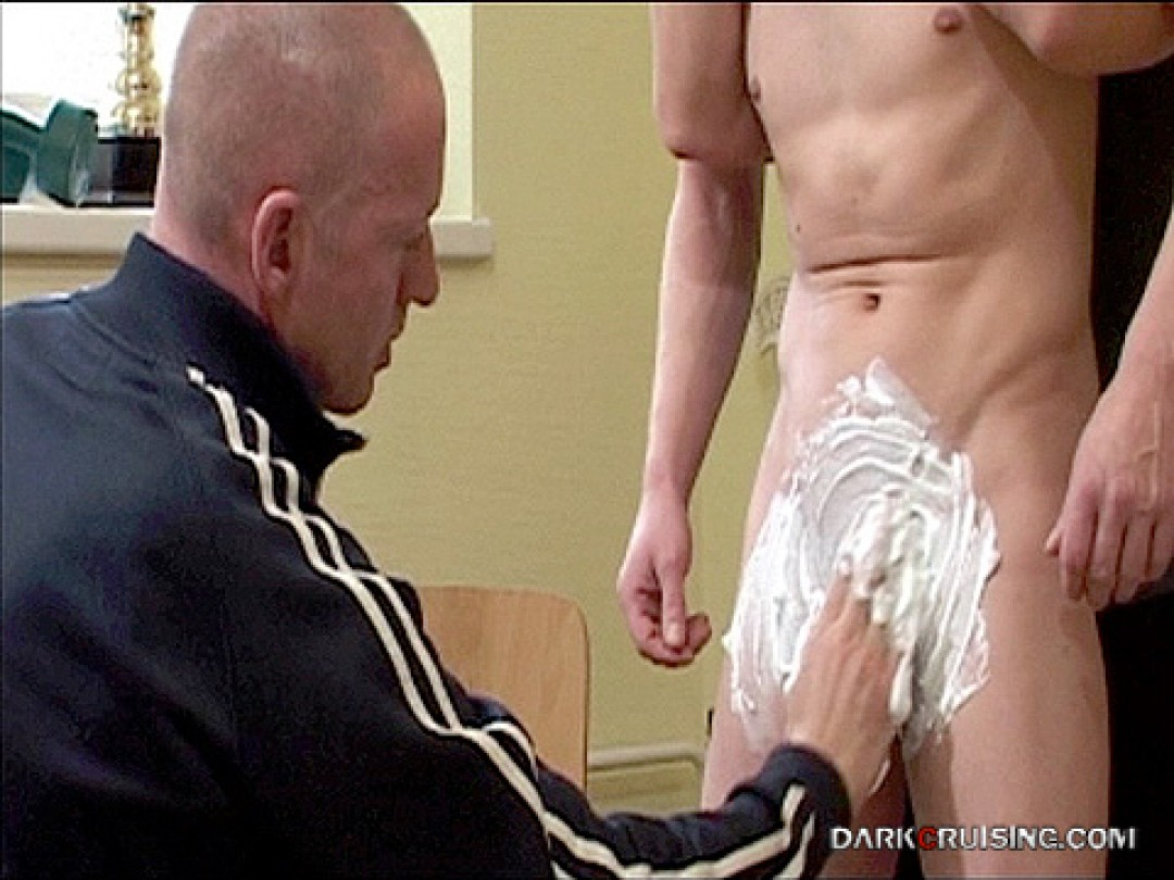 SHAVED AND ABUSED BY GYM COACH