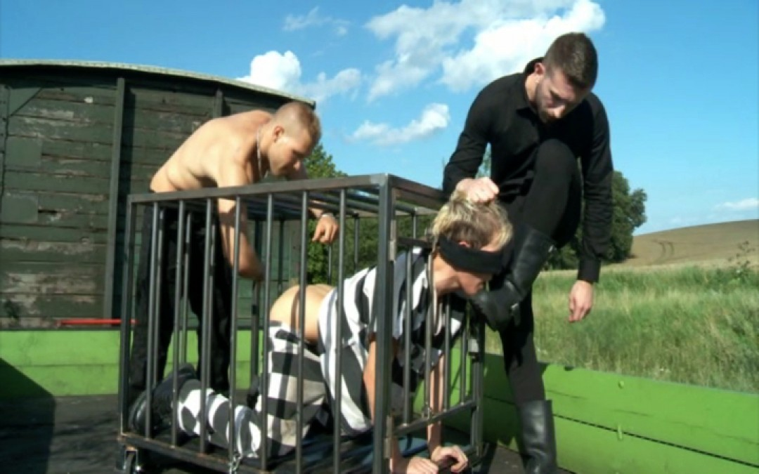 Jordan Fox trains a new slave