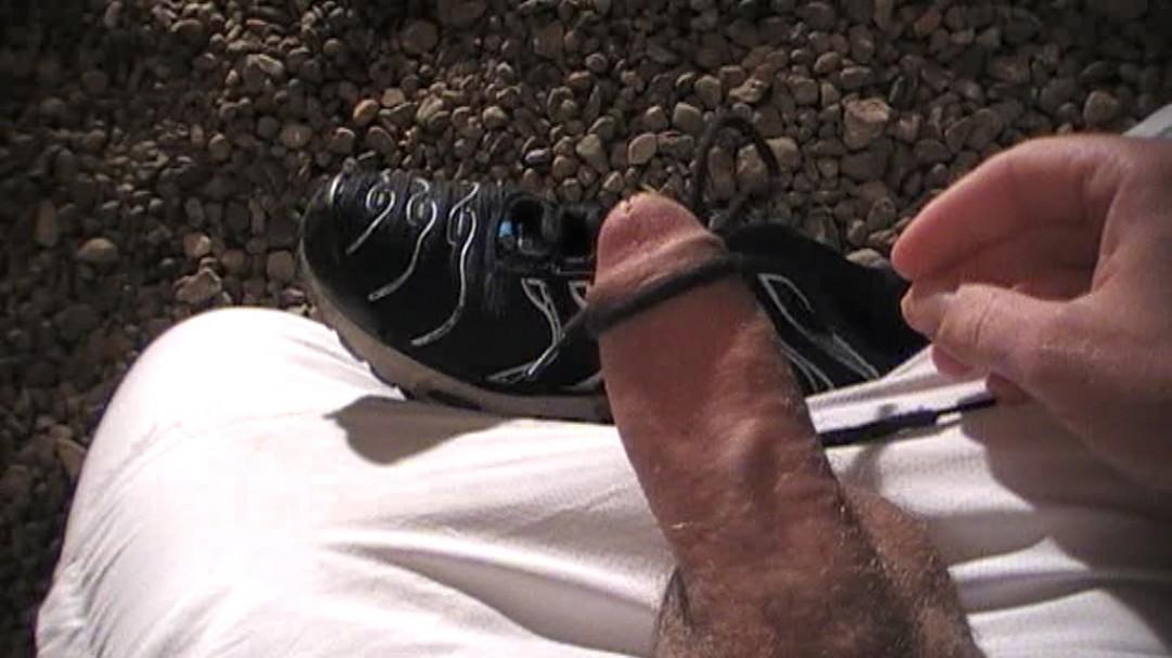 Sneaker masturbation private