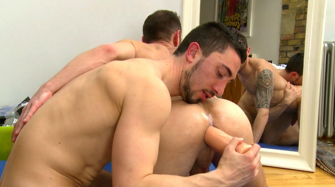 Gay sex addicts testing sex toys
