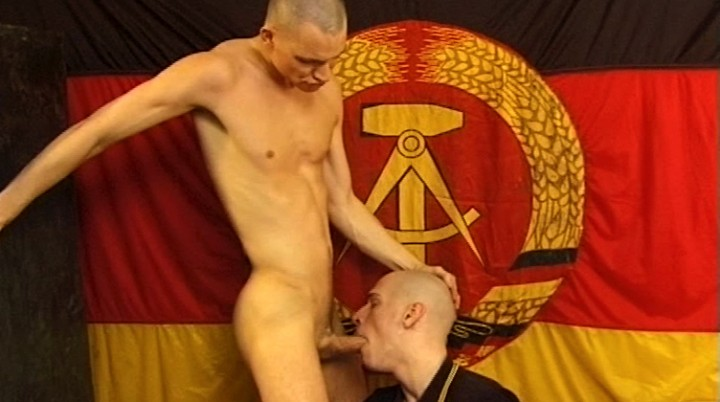 YOUNG SKINHEADS HELP EACH OTHER