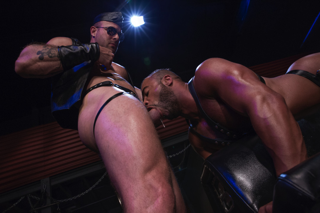 Bound, gagged, and plugged
