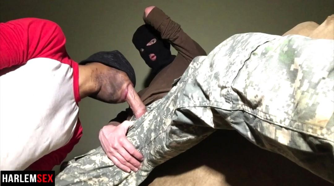 Military Throat Fuck