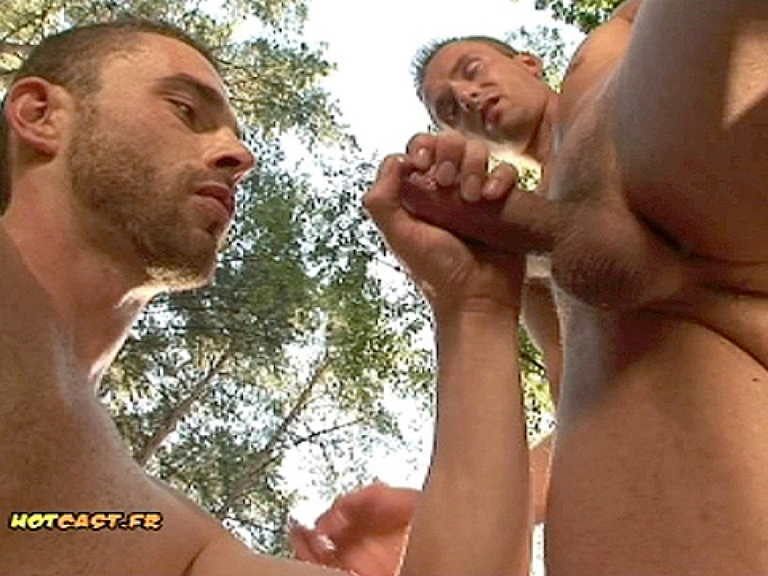 HOT DUDES LOST IN THE WOODS