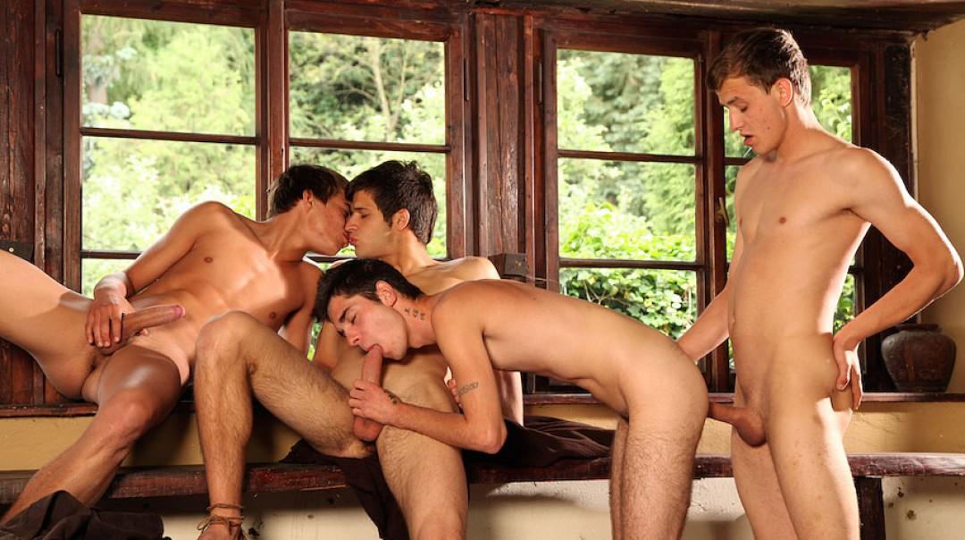 Monastery boys