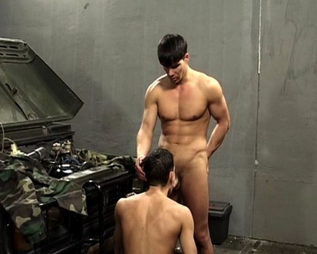 Hungry for ass in the army