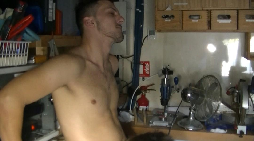 The casting porno  of James VANITY