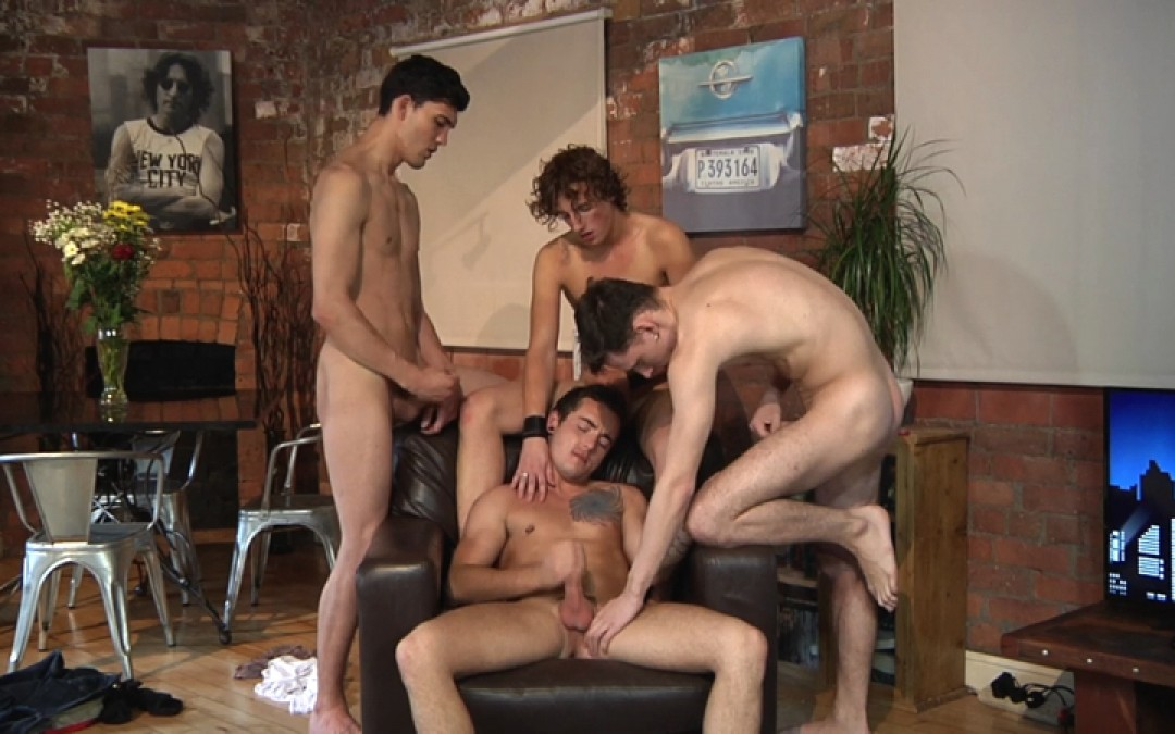 Language Lesson Becomes Gangbang Session (Part 2)