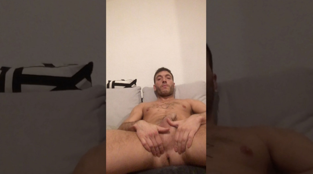 Rico Fatale's double jerking off