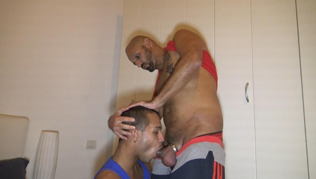 Pornstar italiano Nicola Antonio e il suo amico latino