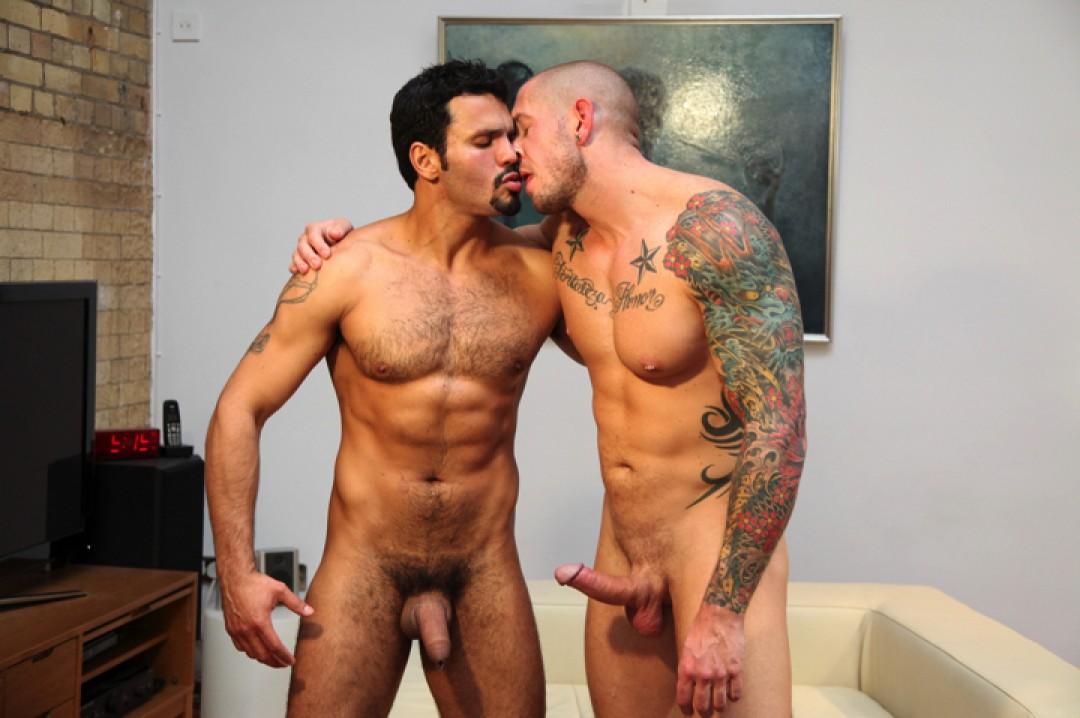Jean Franko and Harley Everett latino gay porn