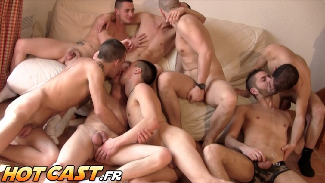 Snow hotcast - scene 6 -final orgy
