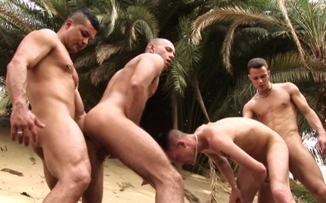 Dragged into a four-some