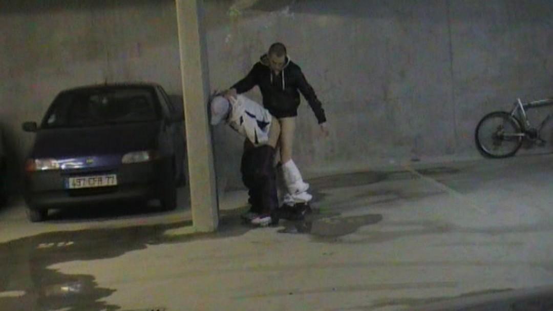 baisé par une racaille parking chalons