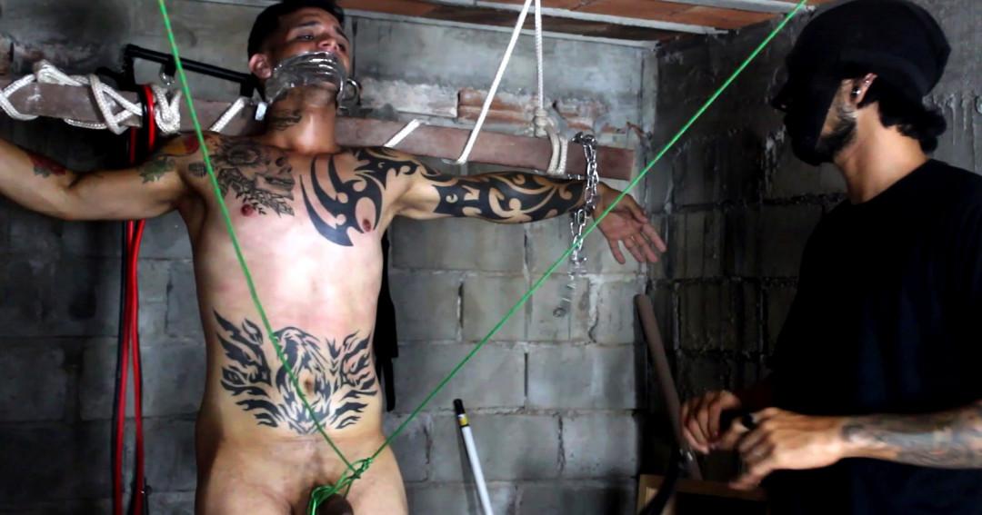 L20253 DARKCRUISING gay sex porn hardcore fuck videos bdsm hard fetish rough leather bondage rubber piss ff puppy slave master playroom 12