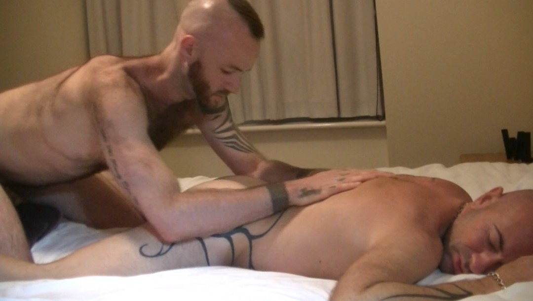 fucked by the pornstar JUSTIN KING in LONDON
