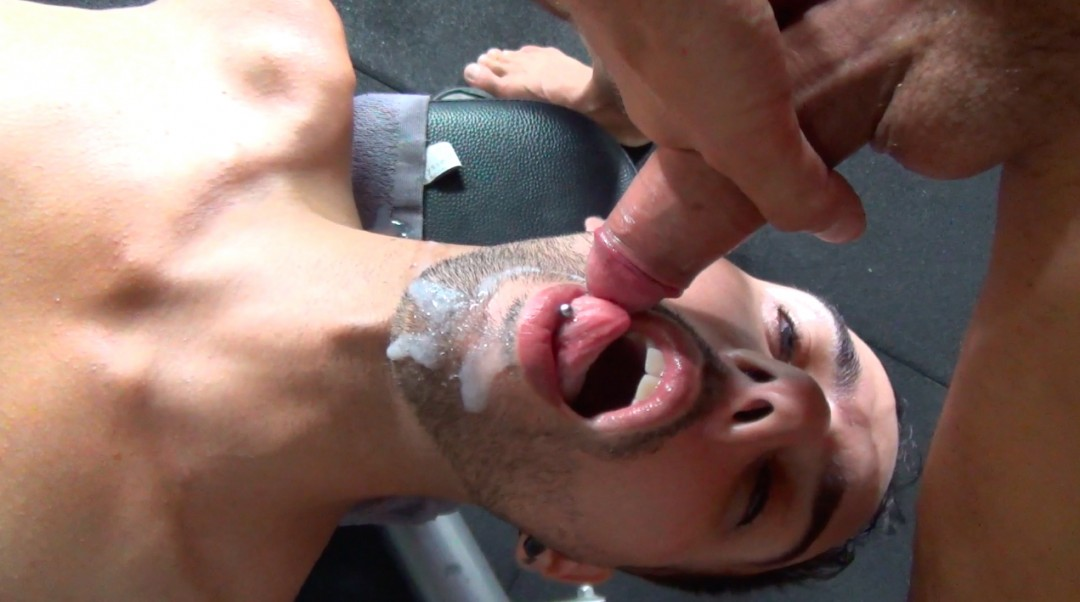 Threesome sports fucking without restraint in the gym - Games of Love - Scene 1