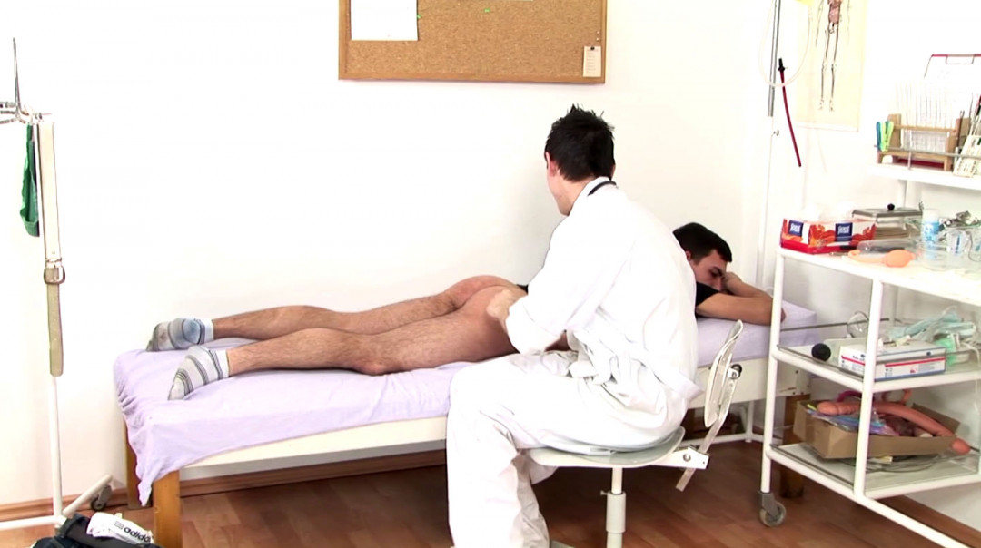Young Gay Doctor's Cum