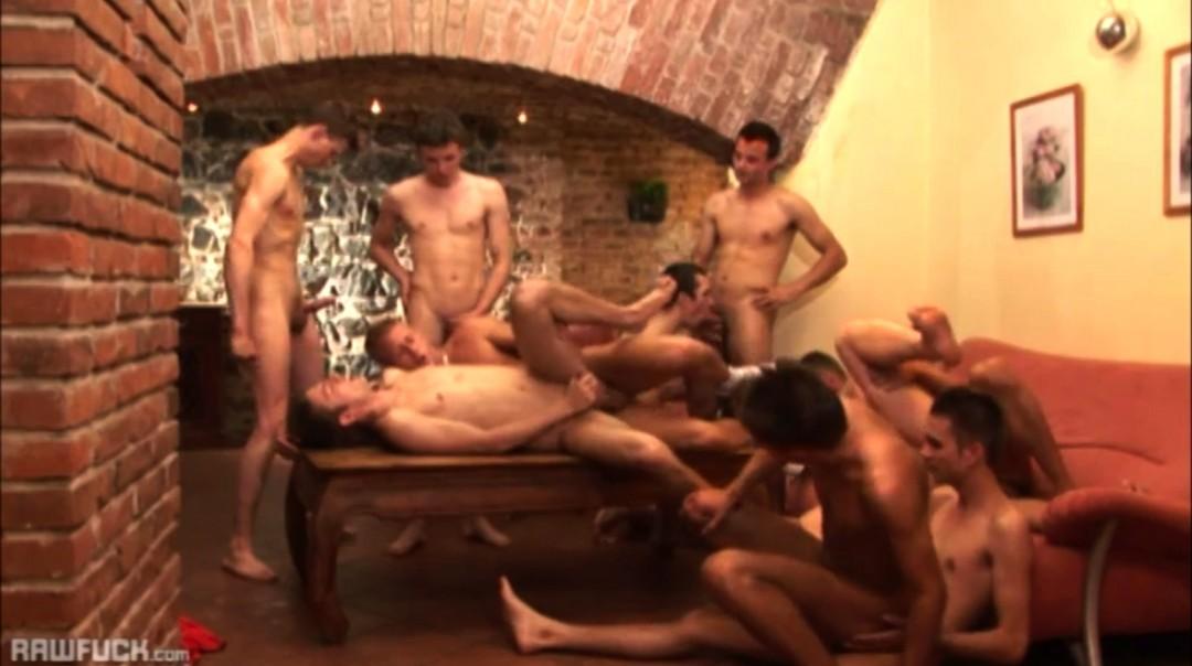 Best Bareback Gangbang Orgy Ever
