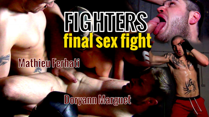 Doryann defeated and subdued in the final fight by Mathieu Ferhati