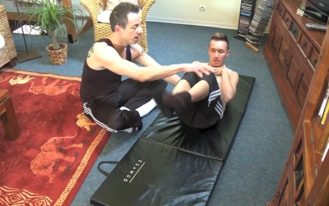 Insegnante di yoga per ragazzi