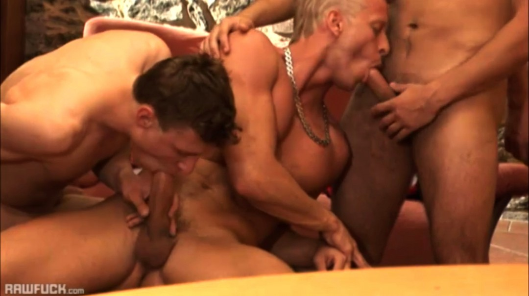 10 twinks in gay orgy