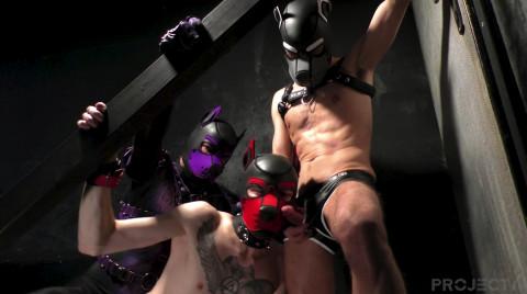 L20912 DARKCRUISING gay sex porn hardcore fuck videos bdsm hard fetish rough leather bondage rubber piss ff puppy slave master playroom 12