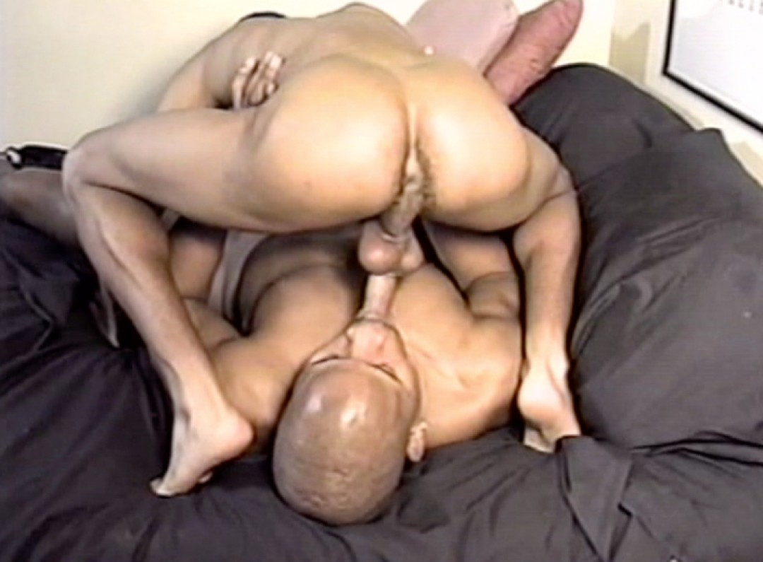 Young black guy fucked hard by his black fellow