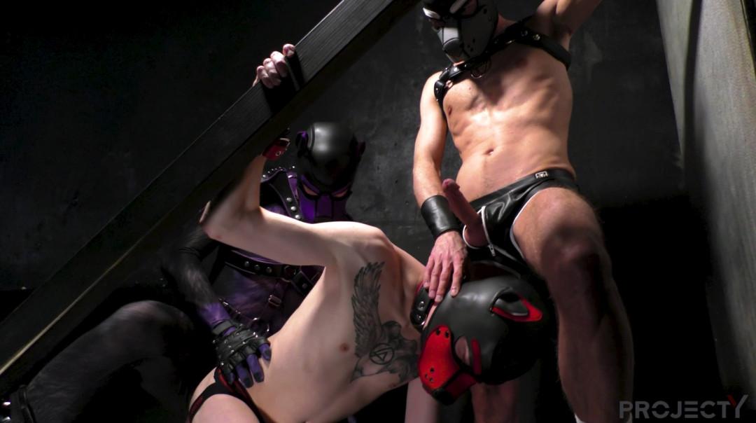 L20912 DARKCRUISING gay sex porn hardcore fuck videos bdsm hard fetish rough leather bondage rubber piss ff puppy slave master playroom 11