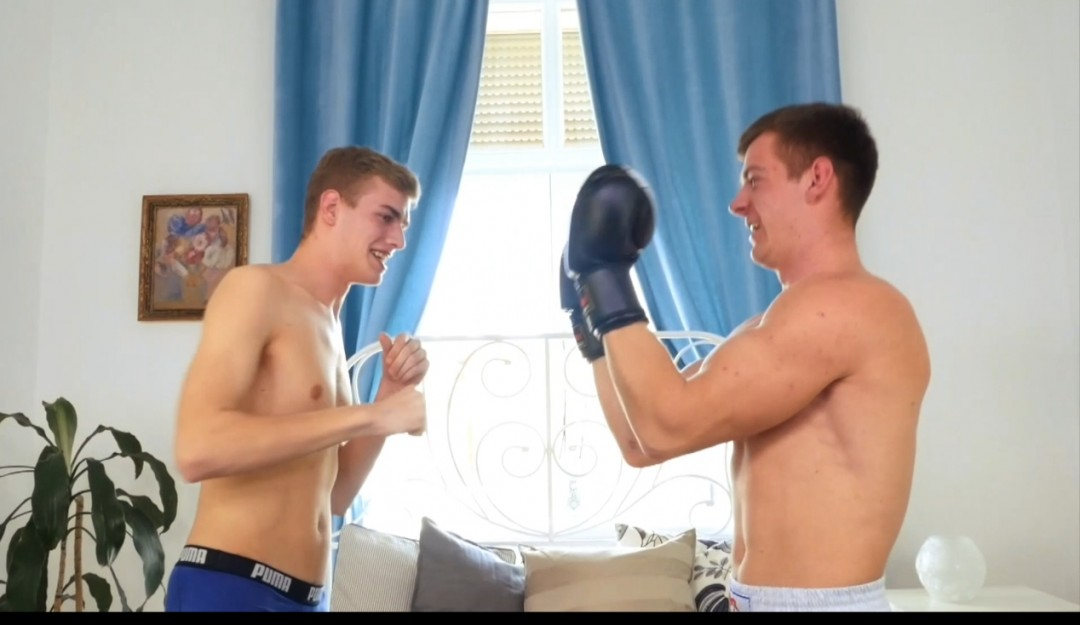 at 19 he gets fucked by his best friend straight boxer