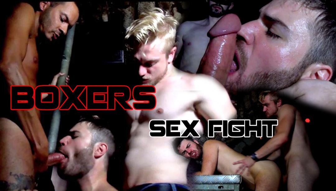 Duel de boxeurs dans un bar malfamé