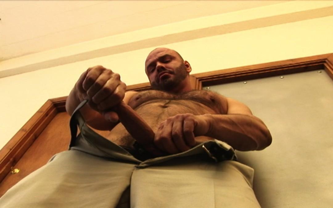 Wanking in the office