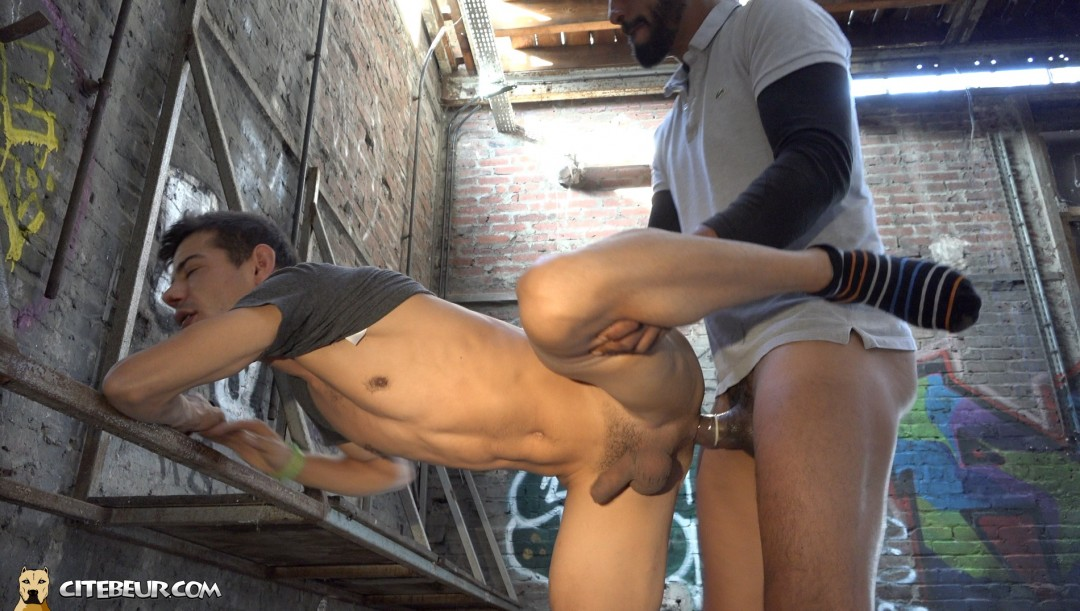 Tahar is fucking hard Vlad's ass with his huge dick