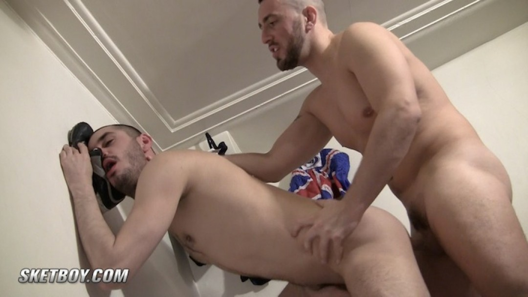 Handsome Spanish bottom for Ferhati's big dick