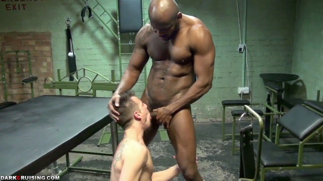 2 Cock-suckers for a Black Master