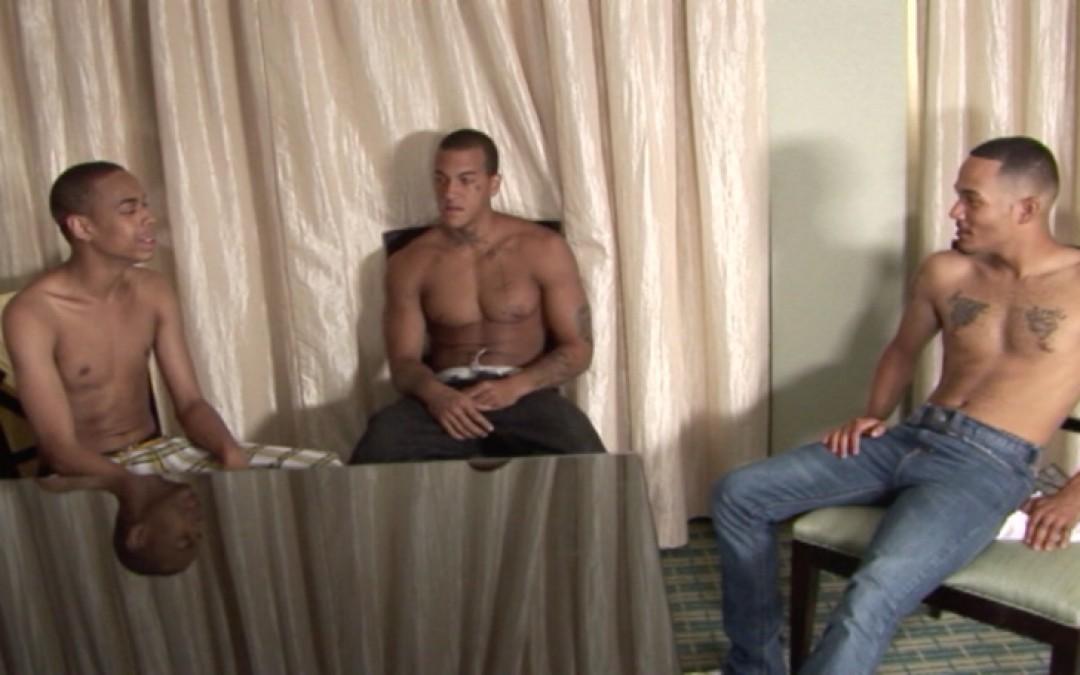 Three mixed-raced sex-addicts