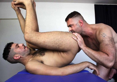 Gay arab boy gets his ass licked