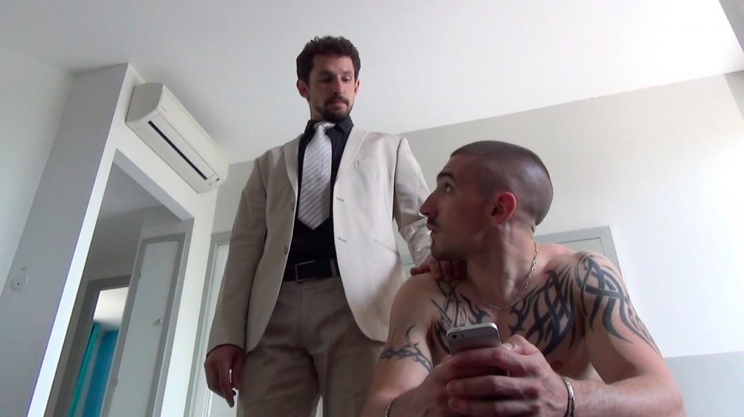 Agents X Episode 4 - Porn version - Jeremy Pitch avec Matt Kennedy