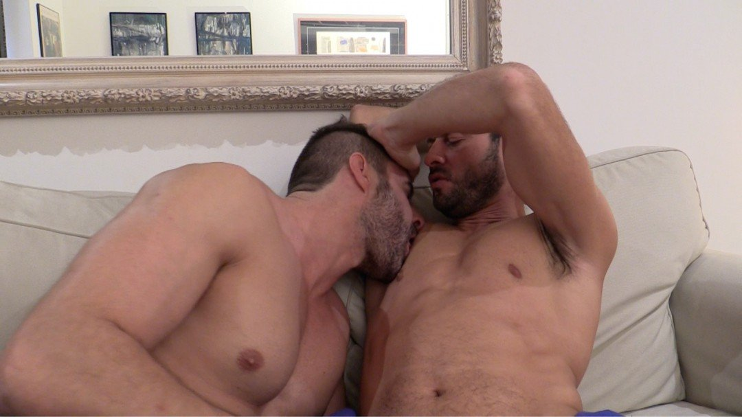Hard kink master Dany Romeo's and his home slave